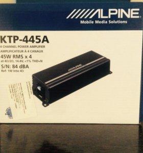 Усилитель 4-х канальный Alpine-445A