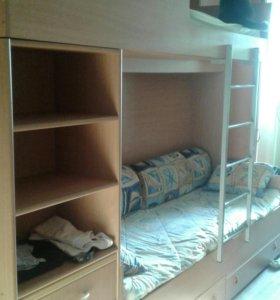 Кровать-шкаф для близнецов