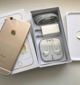 Новый iPhone 6s 16gb Gold