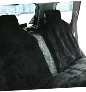 Чехол-автонакидка из шерсти