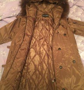 Пальто на синтепоне женское, пуховик женский