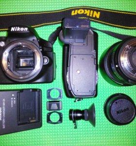 Nikon D3200 + Супер комплект.