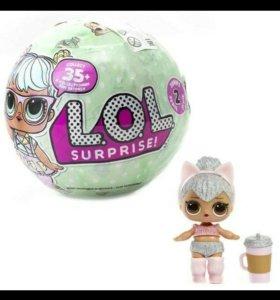 Игрушка кукла-сюрприз LOL, 2-серия.