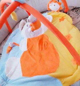 Детский развивающий коврик!