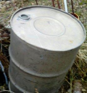 Бочка 200 л из нержавеющей стали