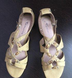 НОВЫЕ кожаные сандалии