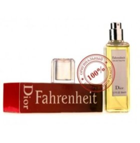 Мини-парфюм Christian Dior Fahrenheit 50 мл
