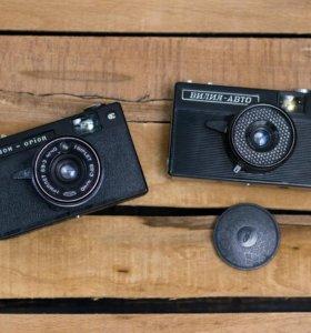 Фотоаппараты пленочные советские