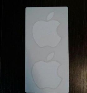 Наклейка на apple