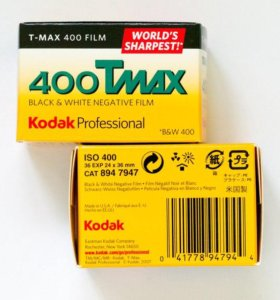 Фотопленка Kodak T-Max 400