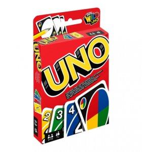 «Уно», настольная игра (новая)