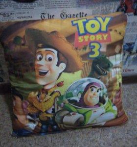 Подушка история игрушек