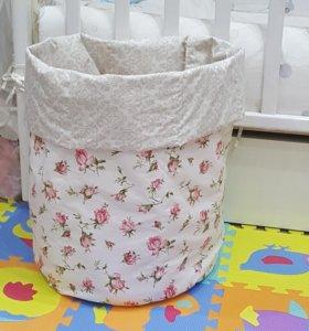 Корзина-мешок для игрушек