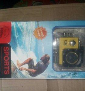 Экшен камера sports cam