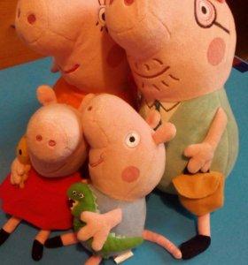 Семья свинки пеппы