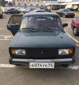 Автомобиль Лада Ваз 21053