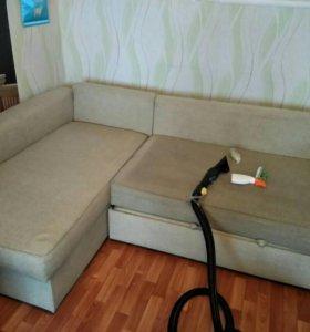 Химчистка дивана, мебели. Ковров,матрасов.