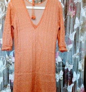 Платье вязаное 42-44