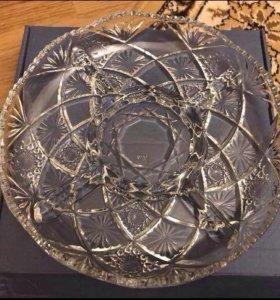 Менажница ( новая) посуда с разделителем