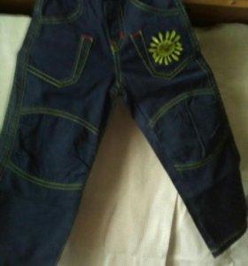 Брюки джинсовые для девочек новые