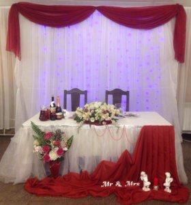 Оформление свадьбы и других праздников