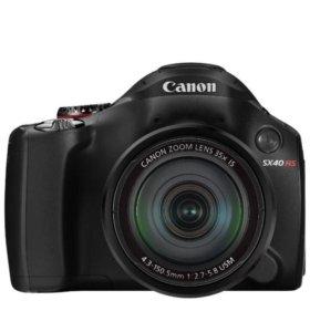 Зеркальный фотоаппарат Canon PowerShot SX40 HS