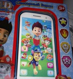 4D детский телефон