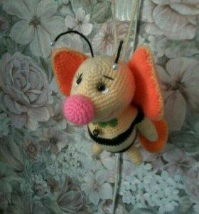Пчелка ручная работа