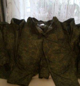 Военный костюм.
