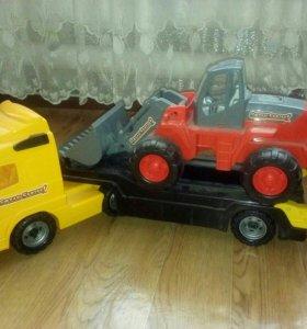 Машина и трактор