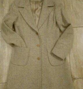 Женское пальто букле, 44 размер