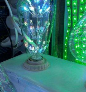 Лампочка гирлянда