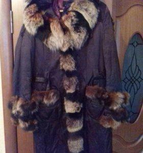 Пальто-плащ, зима, теплое!