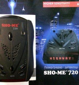Радар детектор новый антирадар Sho-me 720