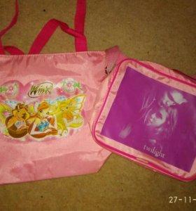 2 сумки для девочки