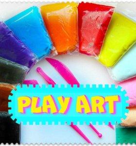 набор 3D пластилина «PLAY ART»