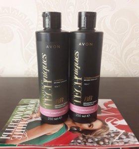 набор шампунь и ополаскиватель для волос