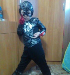 Новогодний костюм, человек паук