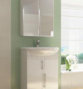 Тумбы, раковины, зеркала в ванную комнату