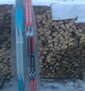 Лыжи,новые в упаковках 10 пар