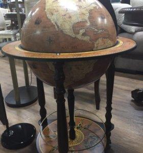 Глобус- бар напольный