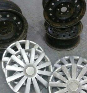 Штампованые диски R16