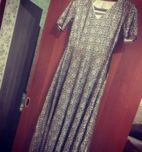 Платье в пол 48-50 размера