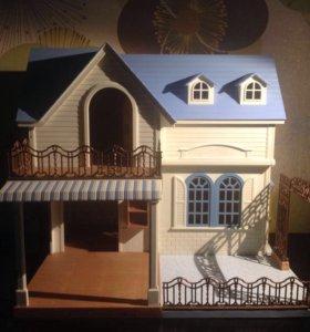 Sylvanian families дом двухэтажный