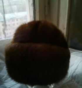 Шапка норковая 56 см