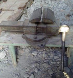 Тиски советские Н-120 мм