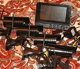 Комплект видеонаблюдения для охраны