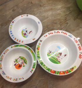 Детские тарелочки Avent