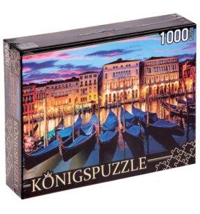 Пазлы Konigspuzzle 1000 деталей НЕ Б/у