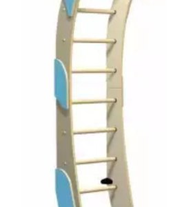 Новая Лестница Луна кремовая голубая